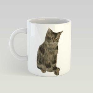ספל קרמיקה – חתול יוסי